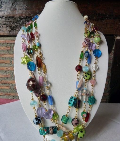 Art.177 all colors Boheme Murano