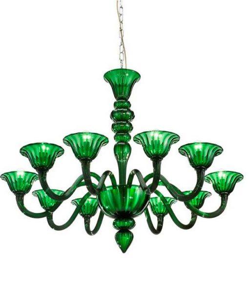 Art. L0479_10 87×104 cm verde Murano