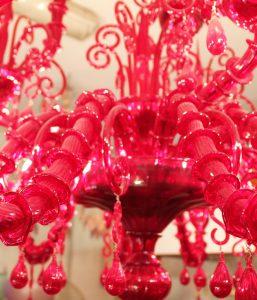 lampadario-rosso